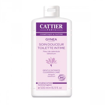 Gel Douceur hygiène intime bio Gynea 500 ml - Cattier