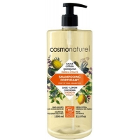 Cosmo Naturel Shampooing bio Fortifiant Quinquina Sauge Citron 1 litre - Gravier