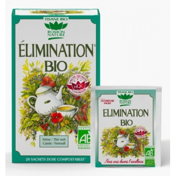 Tisane Elimination bio - Romon Nature