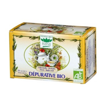 Tisane Dépurative bio - Romon Nature