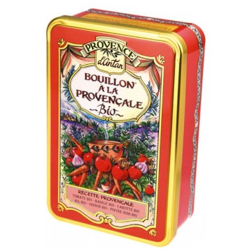 Bouillon de légumes Provençal bio coffret - Provence d'Antan