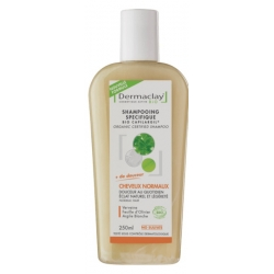 Shampooing traitant Usage fréquent argile blanche 250ml - Dermaclay