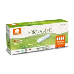 Tampons Super Plus sans applicateur - Organyc