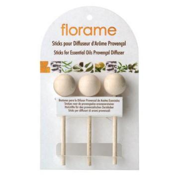 Sticks en bois pour diffuseur d'arôme provençal - Florame