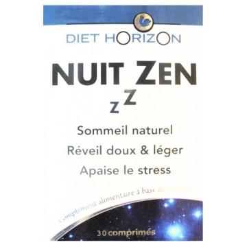 Nuit Zen 30 comprimés - Diet Horizon