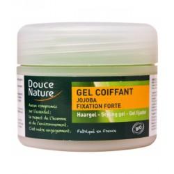 Gel coiffant fixation forte à l'huile de Jojoba - Douce Nature