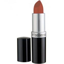 Rouge à lèvres CORAIL (mat) - Benecos