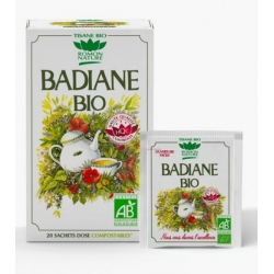 Tisane Badiane bio 20 sachets - Romon Nature