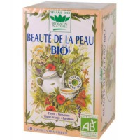 Tisane Beauté de la Peau bio Romon Nature,romon nature, aromatic provence,