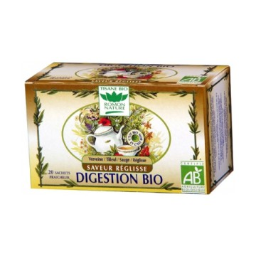 Tisane Digestion Réglisse bio - Romon Nature