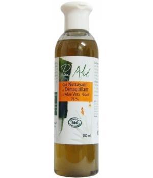 Gel nettoyant et démaquillant bio à l'Aloe Véra - Pur Aloe