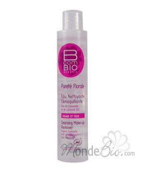 Eau nettoyante démaquillante bio Pureté Florale 100 ml - BcomBio