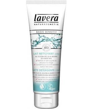 Lait nettoyant et démaquillant 2 en 1 Basis - Lavera