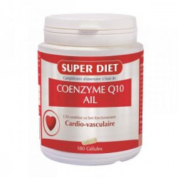 Coenzyme Q10 + Ail 180 capsules Super Diet