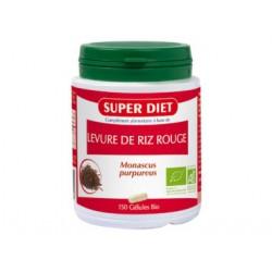 Levure de riz rouge 150 gélules Super Diet