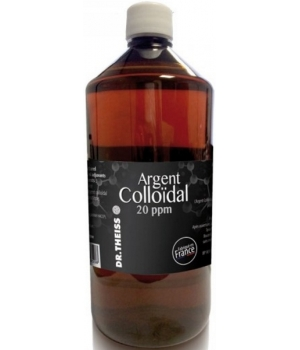 Argent Colloïdal 20 ppm 1 litre - Dr.Theiss