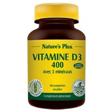 Vitamine D3 400 - Action prolongée - Nature s'Plus