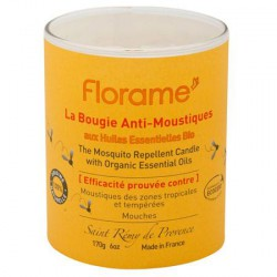 Bougie Anti-Moustiques 100% Origine Naturelle - Florame