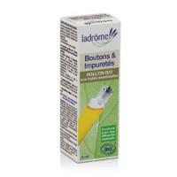 Roll on Boutons et Impuretés 5 ml - Ladrôme - boutons - acné - huiles essentielles bio