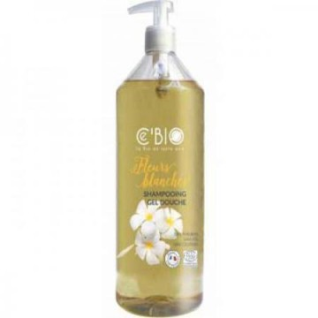 Shampooing douche Fleurs Blanches 1L