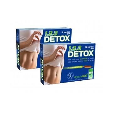 123 Detox Bio Duopack de 2 x 20 ampoules de 10ml