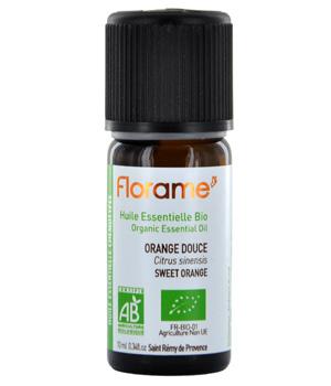 Huile essentielle bio Orange douce - Florame