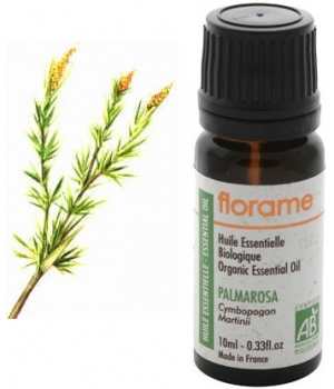 Huile essentielle bio Palmarosa - Florame