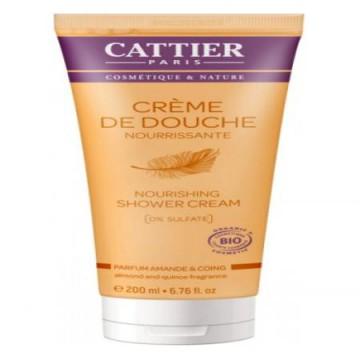 Crème de Douche Amande et Coing - Cattier