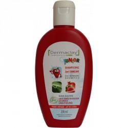 Shampooing Junior 2 en 1 Démêlant - Dermaclay