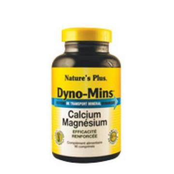 Dyno-Mins Calcium Magnésium 90 comprimés Nature s'Plus