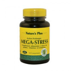 Mega-Stress Action prolongée - Nature s'Plus