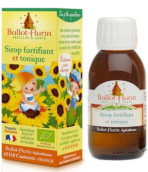 Sirop fortifiant et tonique - Goût pamplemousse 100 ml - Ballot-flurin