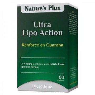 Ultra Lipo Action 60 comprimés Nature s'Plus