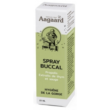 Spray buccal Propolin® 15ml - Aagaard