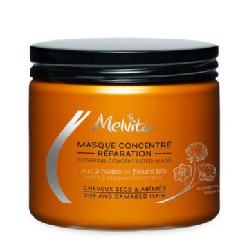 Masque concentré Réparation cheveux secs et abîmés - Melvita