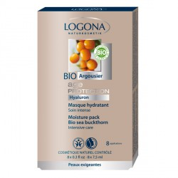 Masque Hydratant Soin Intense Age Protection - Logona
