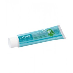 Dentifrice enfants +7 ans protection fluor goût menthe douce - Cattier