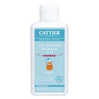 Gel douche douceur enfants sans savon à l'Ananas - Cattier Aromatic Provence
