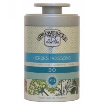 Herbes à poissons bio Boîte  de 30 gr - Provence d'Antan