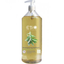 Shampooing fortifiant Quinquina Sauge Citron 500ml - C'BIO