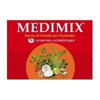 Savon Ayurveda Medimix 18 plantes 125gr Kerala Nature - medimix acné - aromatic provence