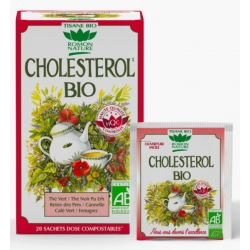 Tisane Cholesterol bio 20 sachets Romon Nature