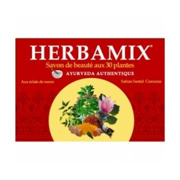 Savon ayurveda Herbamix 30 plantes 125 gr - Kerala Nature