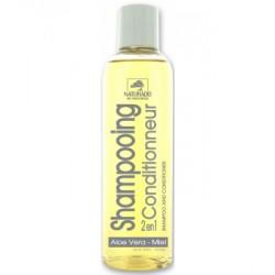 Shampooing 2 en 1 Conditionneur Aloe Vera Miel 200ml Naturado