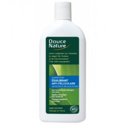 Shampooing Equilibrant anti pelliculaire Sauge Tea Tree 300ml - Douce Nature