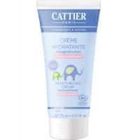 Crème hydratante Visage et Corps Bébé 75ml - Cattier