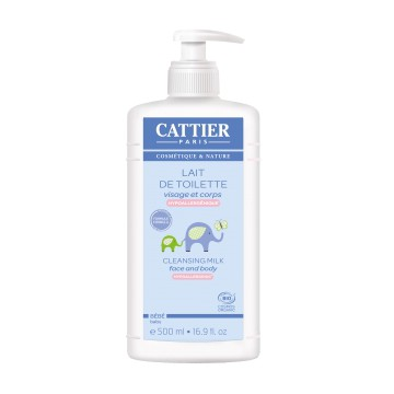 Lait de toilette bébé 500 ml - Cattier