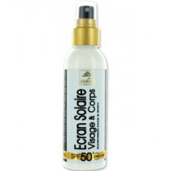 Creme solaire visage très Haute Protection SPF 50 - 100ml Naturado
