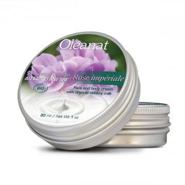 Baume de soin au Lait d'Anesse Rose Impériale 30 ml - Oléanat