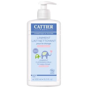 Liniment bio Lait crème pour le change 500 ml- Cattier